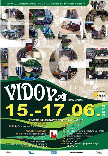 Vidova 2012. @ Gračišće 15. - 17. lipnja 2012.
