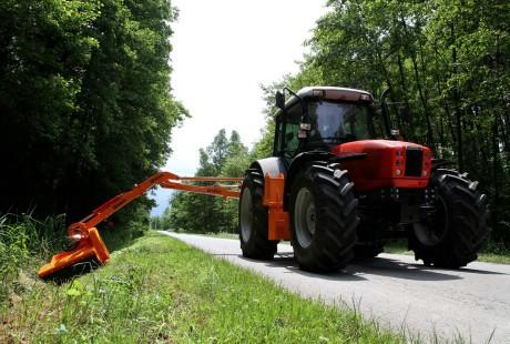 Obavijest sudionicima u prometu - košnja trave