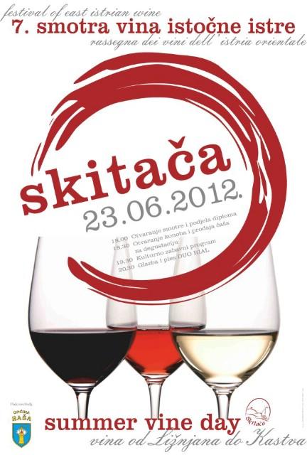 Ljubitelji vina u subotu će put Skitače
