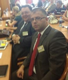 Zamjenik istarskog župana Vedran Grubišić na Međunarodnom poslovnom forumu u Sarajevu