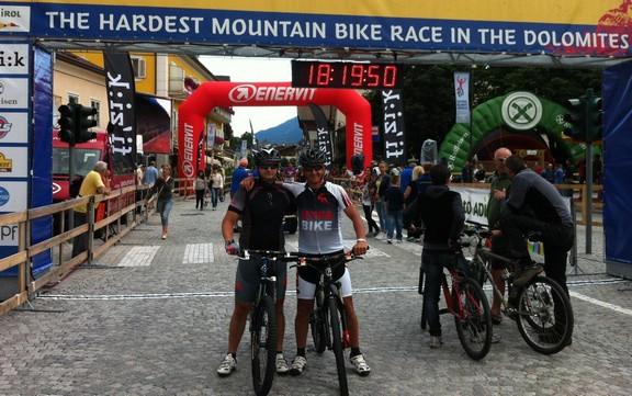Robi Faraguna u zlatnoj sredini na utrci Dolomiti Super Bike