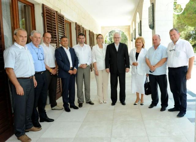 I labinski gospodarstvenici s predsjednikom Josipovićem