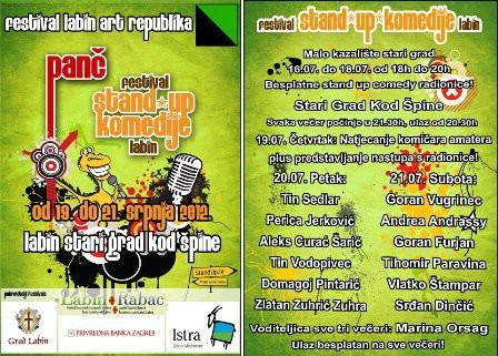 Off program Festivala stand up komedija Panč – Čovječe ne ljuti se i turnir u graničaru