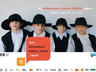 """KUD """"Zlatela"""" iz Kršana sudjelovalo na 46. Međunarodnoj smotri folklora u Zagrebu"""