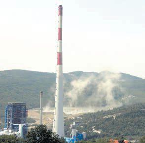 Bura opet podigla pepeo termoelektrane - ČETIRI DESETLJEĆA STAR PROBLEM HEP-ovog ODLAGALIŠTA U PLOMINU