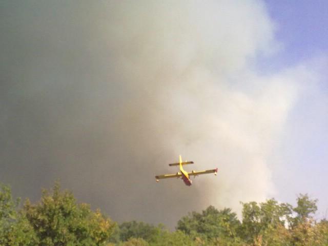 Ugašen požar kod Rapca - galerija fotografija