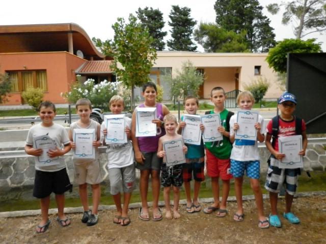 I druga grupa uspješno završila Školu jedrenja