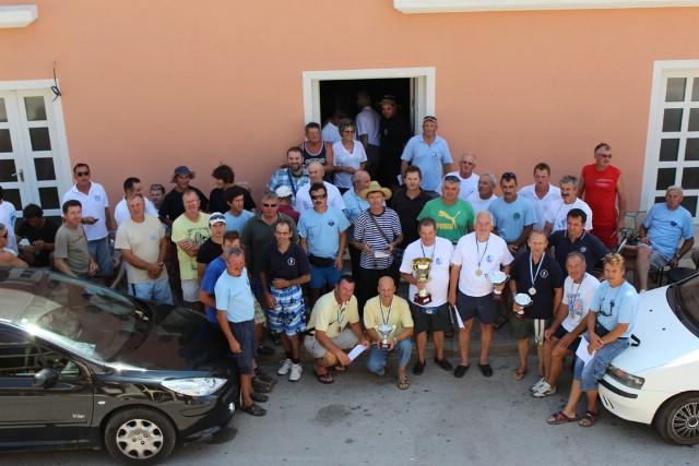 Na natjecanju u sportskom ribolovu za parove `Trofej Plomin 2012` 21 ekipa