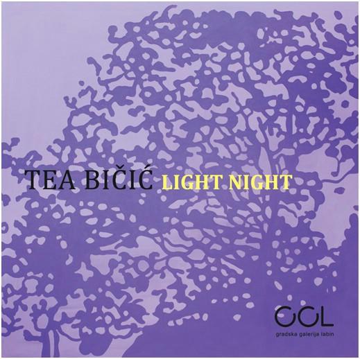 Samostalna izložba Tee Bičić `Light night`  u Gradskoj galeriji Labin