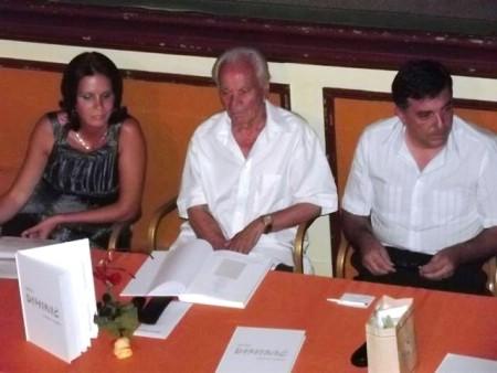 Promovirana monografija `Rišem i pišem` Josipa Diminića