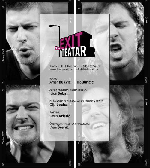 """Predstava """"Kako misliš mene nema!?"""" Teatra Exit, gostuje u Labinu"""
