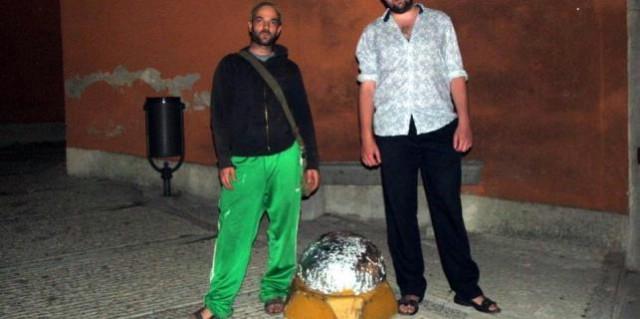 Svjetlucave instalacije u starom Labinu