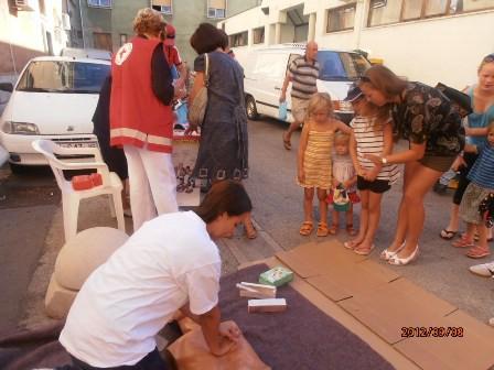U Labinu obilježen Svjetski dan prve pomoći