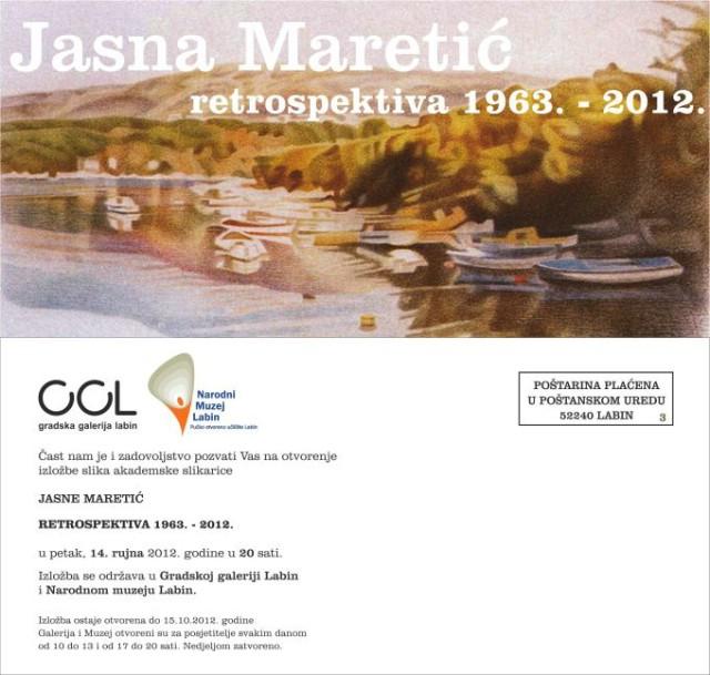U sklopu tjedna muzeja Jasna Maretić izlaže u Narodnom muzeju Labin