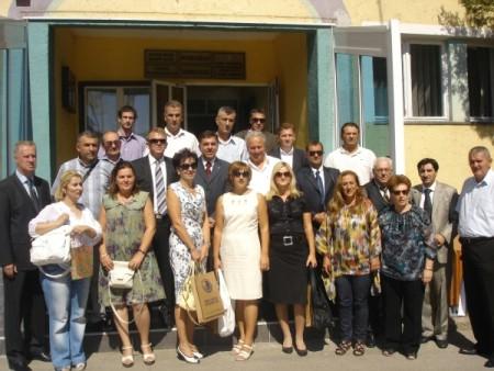 Predstavnici Grada Labina u rudarskoj općini Banovići
