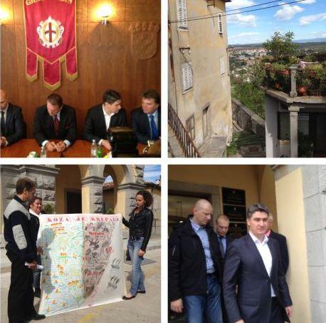 Milanović i Čačić naglo prekinuli posjet Plominu (Audio)