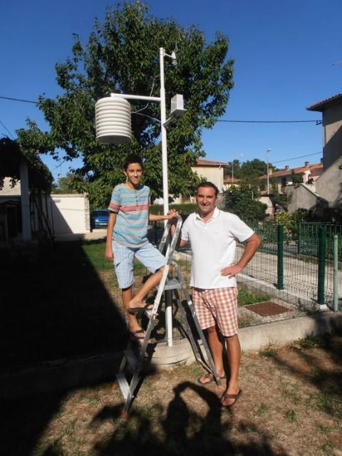 U mrežu spojena nova postaja u donjem Labinu pokrenuta na inicijativu 11-godišnjeg Karla Diminića