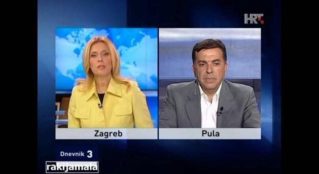 [Video] Tončica Čeljuska `iznenadila` gradonačelnika Tulia Demetliku pitanjima o TE Plomin 3 na ugljen