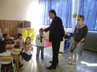 Labinski gradonačelnik i njegova zamjenica posjetili dječje vrtiće i Dnevni centar (Audio)