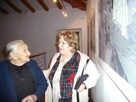 Crveni križ Labin je u povodu Međunarodnog dana starijih osoba obišao pet najstarijih Rašana - Najstarija Fuma Batel (102)