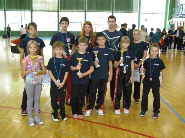 Labinjani su osvojili  19  odličja na kickboxing natjecanju Jadran Kup 2012 - Filip Grbić najuspješniji mlađi kadet