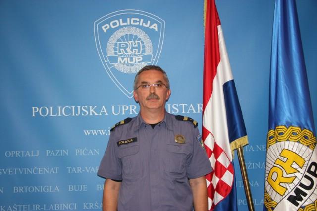 Davor Tomičić novi načelnik Policijske postaje Labin