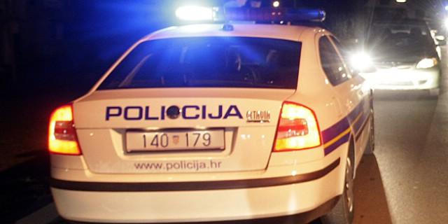 Kršan: Bježao policiji pa sletio s ceste