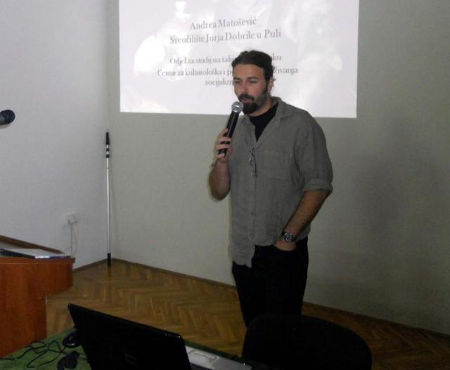 Andrea Matošević o rudarenju na Labinštini