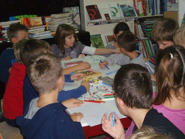 Učenici OŠ `Ivo Lola Ribar` posjetili gradsku knjižnicu Labin