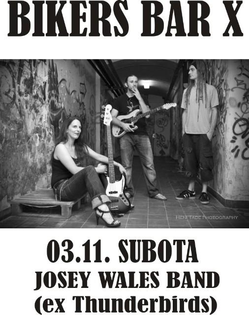 Ponovno otvoren Bikes Bar X -  mjesto za rock svirku u Labinu -  u subotu koncert pulskog cover benda Josey Wales
