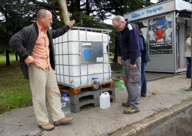Bez pitke vode 17.000 građana Labinštine