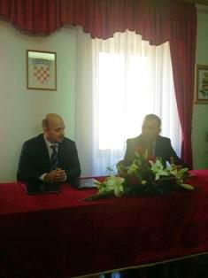 Ministar poduzetništva i obrtništva Gordan Maras u Barbanu