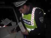 Za Martinje u Labinu od 32 testirana vozača samo 2 su bila pozitivna na alkohol