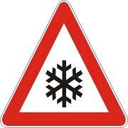 Obavijest o privremenom zatvaranju ceste kroz Ripendu Breg zbog poledice