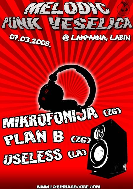 Melodic Punk Veselica @ KUC Lamparna 07.03.2008.
