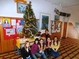 Mali Božićni sajam u raškoj osnovnoj školi