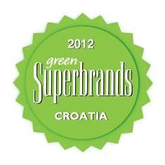 Holcimu oznaka Green Superbrands 2012