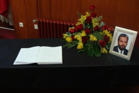 Otvorena Knjiga žalosti za Marina Brkarića