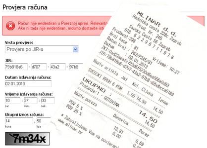 Fiskalizacija - izdane račune provjerite online