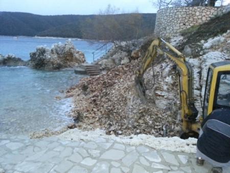 Uređenje plaže Sv. Andrije