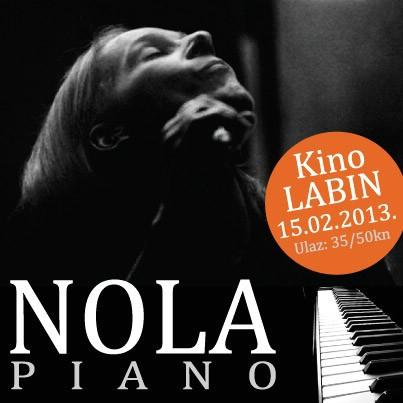 [NAJAVA] Nola PIANO – romantični gala koncert povodom Valentinova 15. veljače u  kinu Labin