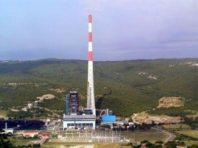 TE Plomin 3 na ugljen, LNG terminal u Omišlju