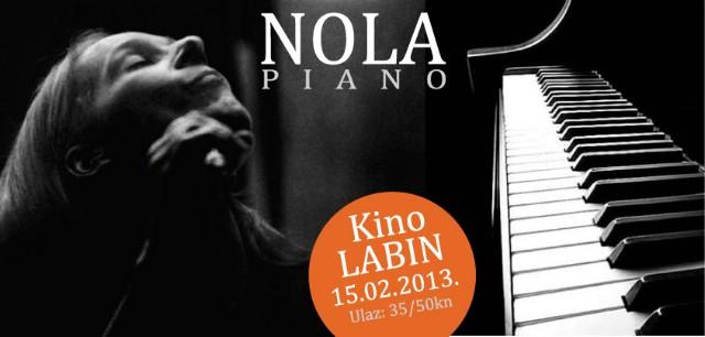 Od danas u pretprodaji 100 ulaznica za gala koncert `NOLA piano` 15. veljače u Kinu Labin