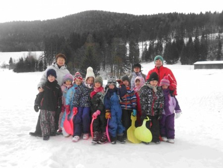 Labinski mališani vratili se sa zimovanja u Staroj Sušici