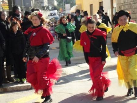 Sutra maškarani karneval u Labinu