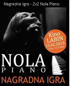 [NAGRADNA IGRA] LC Labin.com za Valentinovo zaljubljenim parovima poklanja 2 x 2 ulaznice za romantični gala koncert NOLA - piano @ Kino Labin 15. 02.