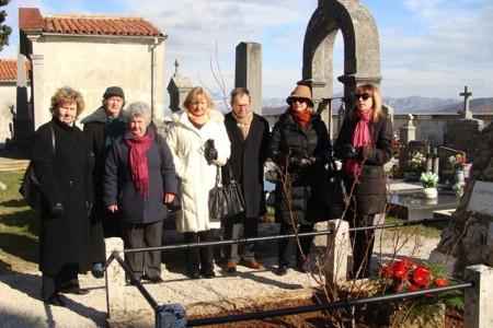 Položeno cvijeće povodom 169-og rođendana Giuseppine Martinuzzi