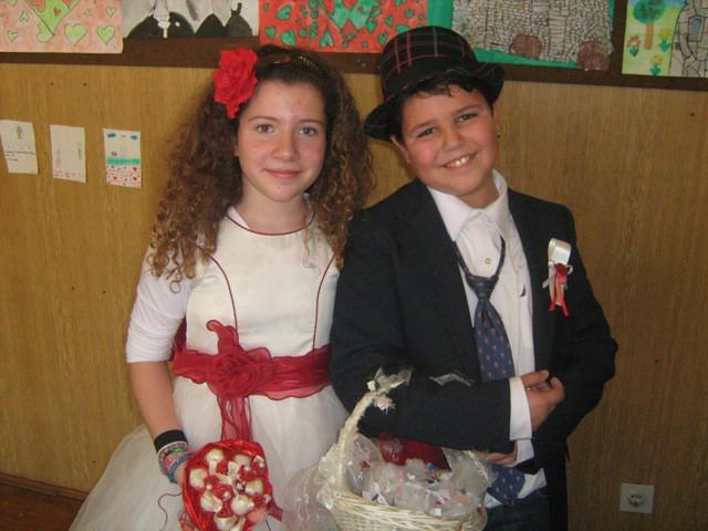 Valentinovo se proslavilo i među osnovnoškolcima iz Vozilići