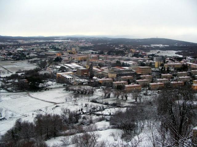 Labin u bijelom, sniježilo u Puli i Poreču