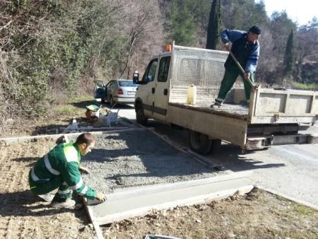 Uređenje novih autobusnih čekaonica u naselju Kapelica, Vinež i Principi